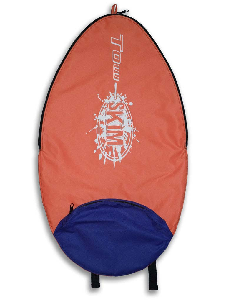 Tow Skim | What's Included | Board Bag - Orange and Purple