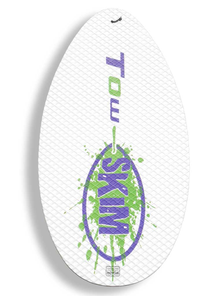 Tow Skim | What's Included | Board - Green and Purple
