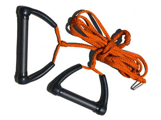 Tow Skim | What's Included | Tow Rope - Orange
