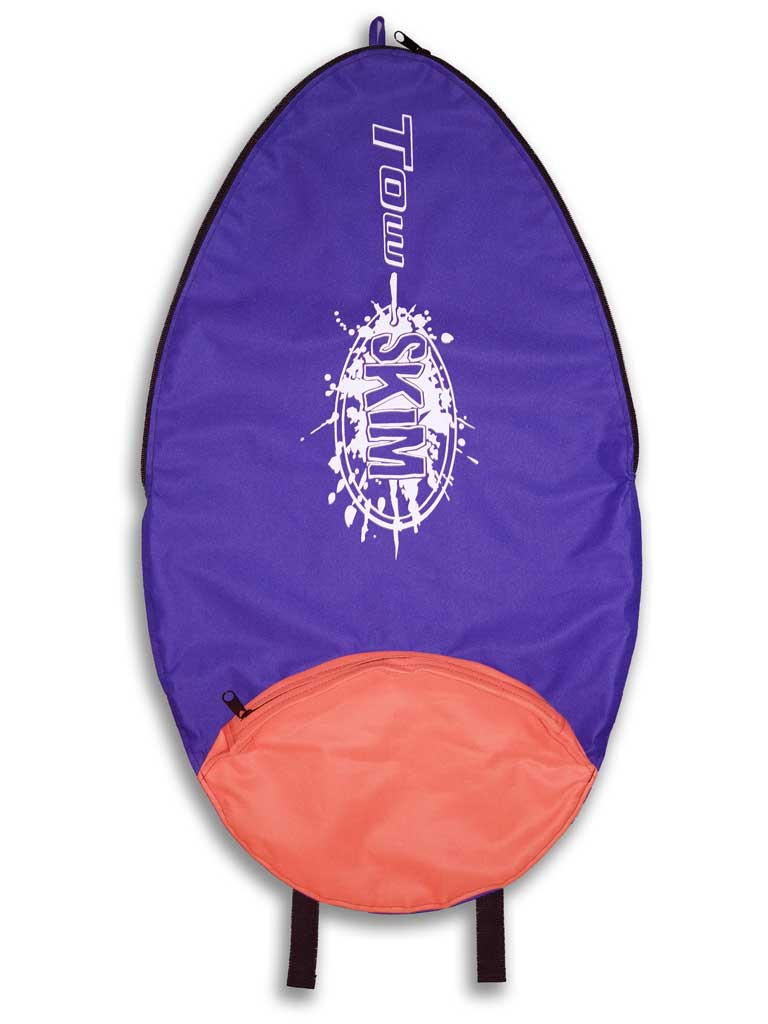 Tow Skim | What's Included | Board Bag - Blue and Purple