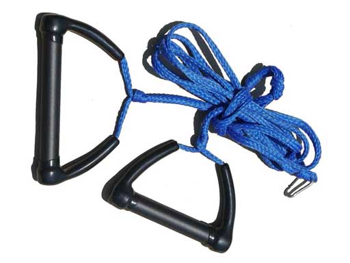 Tow Skim | What's Included | Tow Rope - Blue