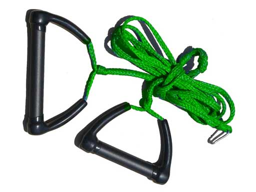 Tow Skim | What's Included | Tow Rope - Green