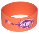 Tow Skim | Orange Wristband | Knee Rider Wristband.