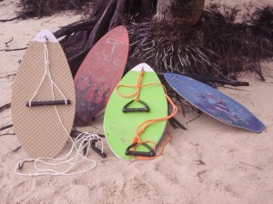 Tow Skim - Our Story - First Prototypes Pic